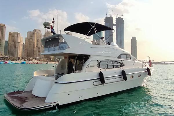 50ft yacht rental dubai