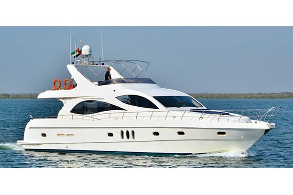 70ft yacht tour duabi